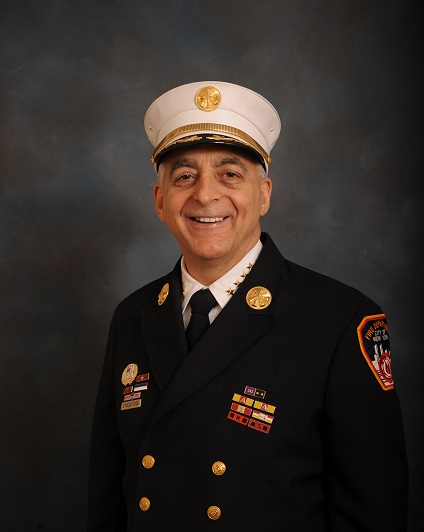 RaCERS marks passing of Ron Spadafora, Assistant Chief with FDNY, John Jay College alum