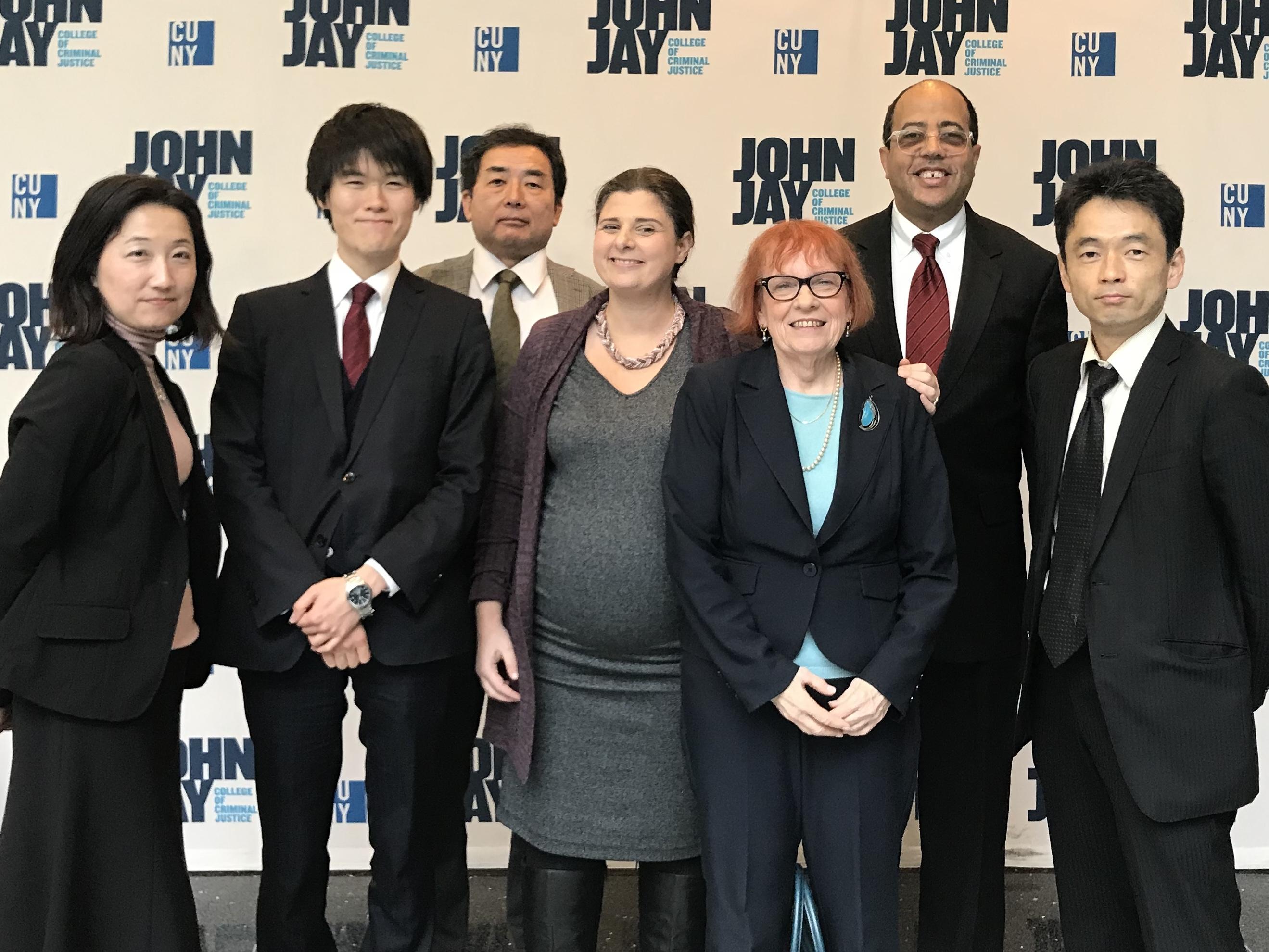 Japan Delegation Visits College, Center