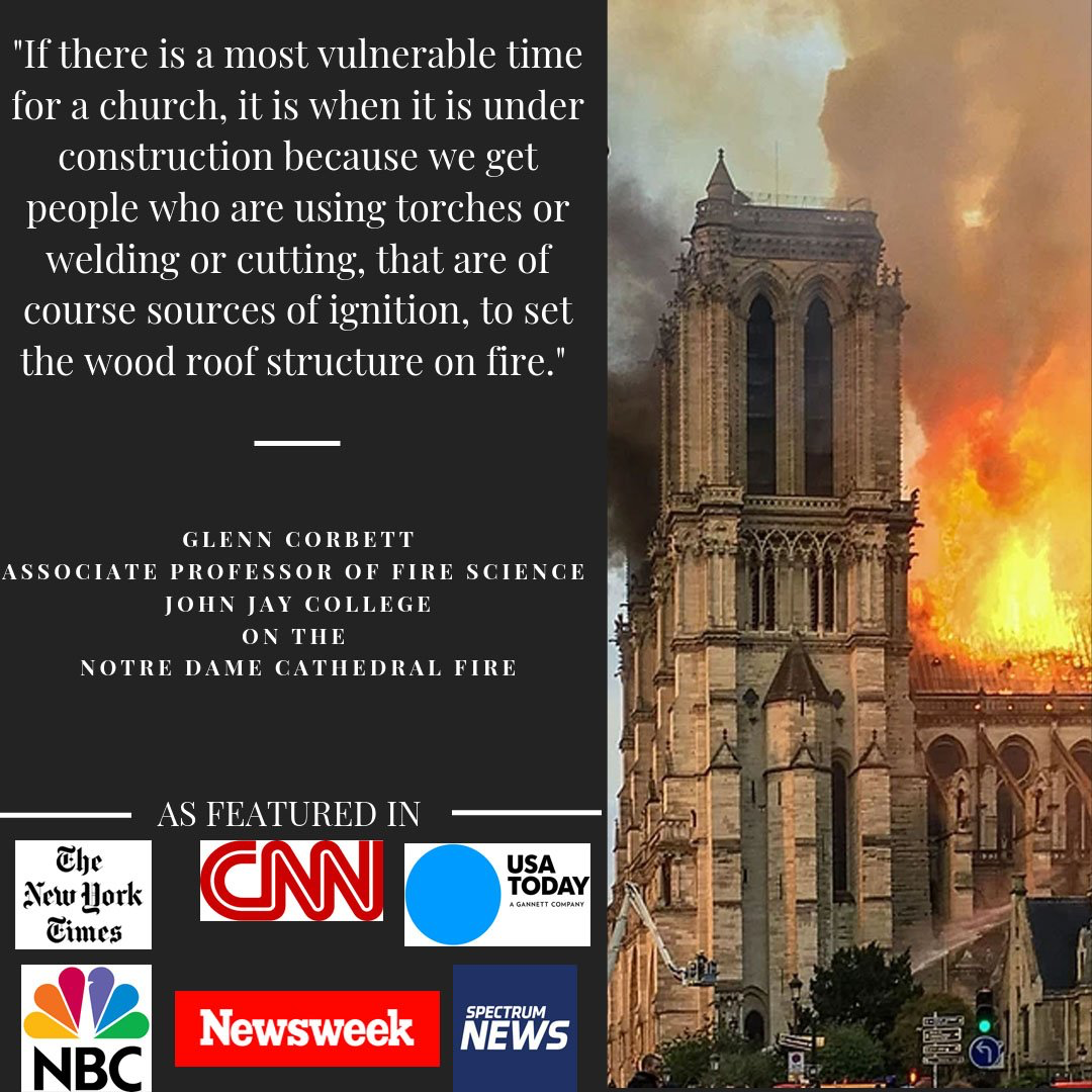 Notre Dame Cathedral Fire: RaCERS Faculty Sought Out by National Media