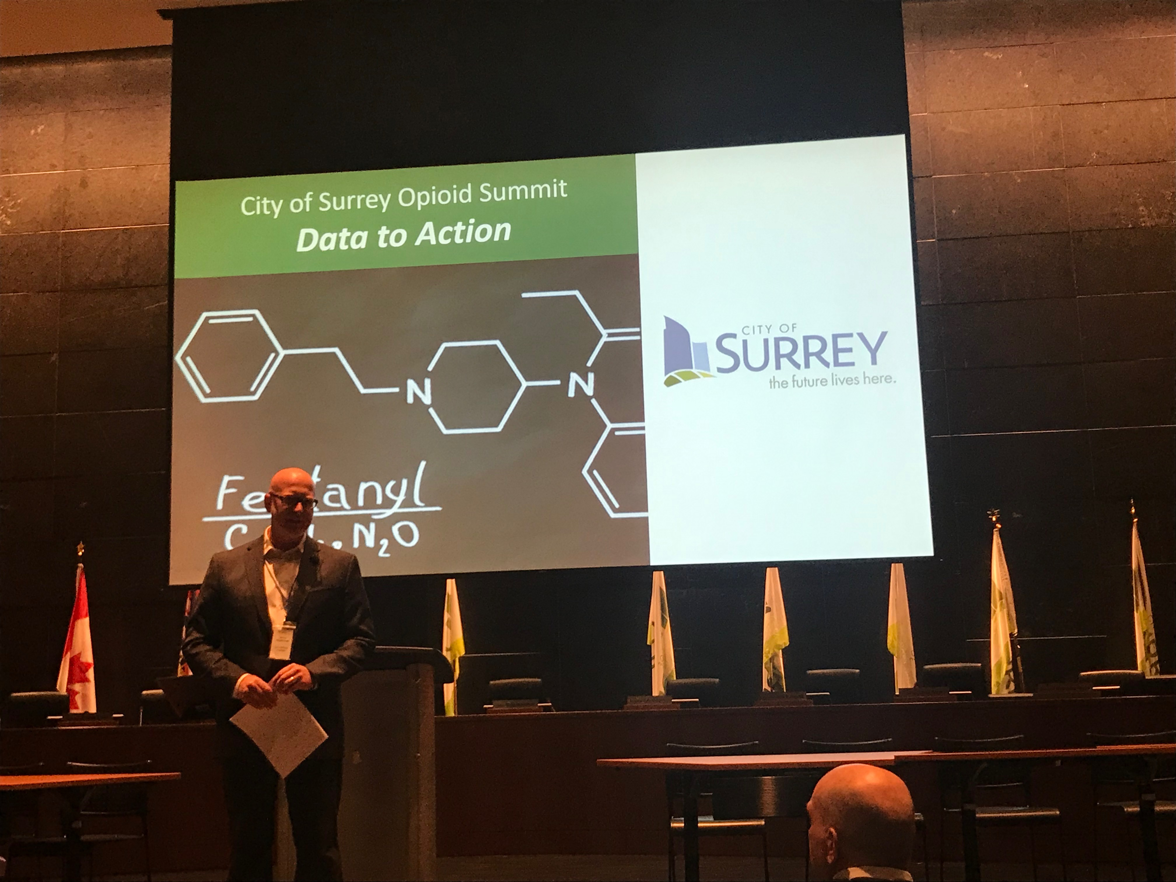RaCERS Director Participates in Opioid Summit in Surrey, BC