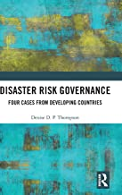 RaCERS Affiliated Faculty Thompson Publishes Book on Disaster Risk Governance